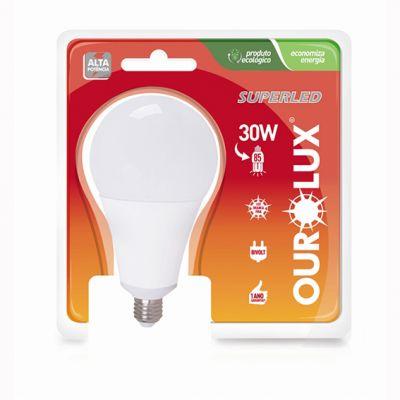 Lampada Led Bulbo 30w 6400k Ourolux
