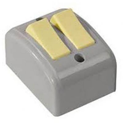 Interruptor 2 Teclas Sobrepor cz Mectronic