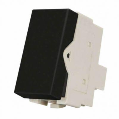 Mod Interruptor Simples 10a-250v Ebony Sleek