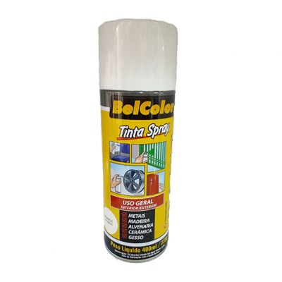 Tinta Spray Branca Fosco Beltools 400ml