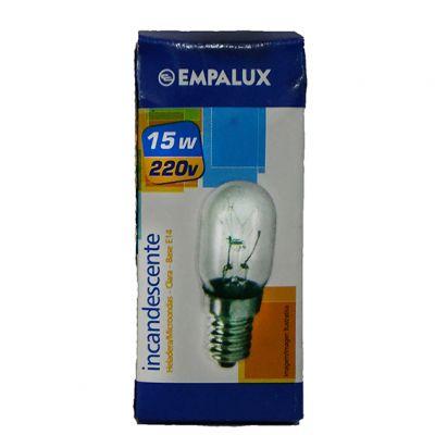 Lampada Geladeira/ Microondas E14 15w 220v Brasfort