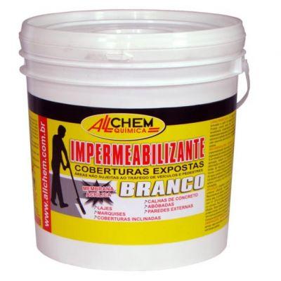 Impermeabilizante Acrilico Branco 3,6l Allchem