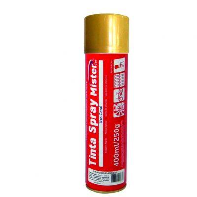Tinta Spray Dourado Mister 400ml