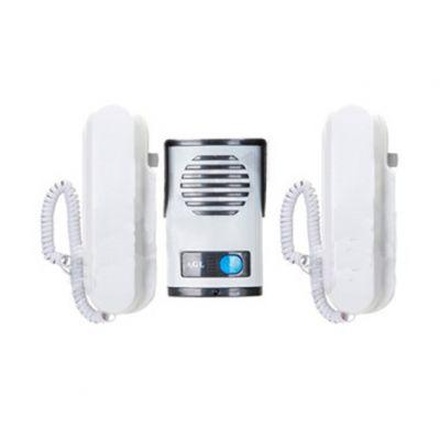 Porteiro Coletivo Agl 02 Pontos C/2 Interfones