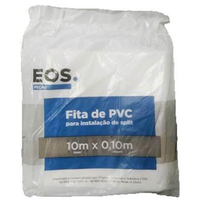 Fita Pvc s/ Adesivo 0,10mx10m Branco Dugold