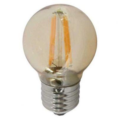 Lampada Bolinha Filamento 3w 6400k Ourolux