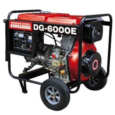 Gerador Diesel Dg6000e 380v Kawashima