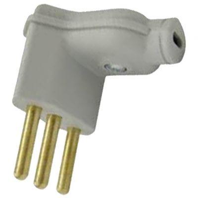 Plug Macho Pld6-3 Pinos 10a 90g Triang Branco