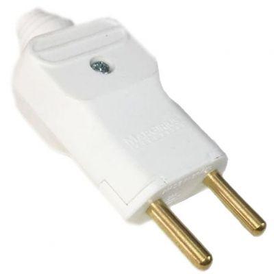 Plug Macho Pld2-2 Pinos 20a Branco