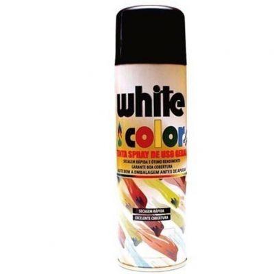 Tinta Spray Preta Brilhante Orbi 340ml