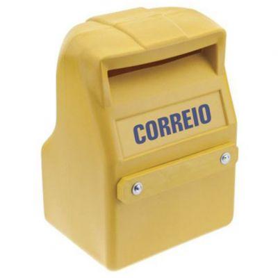 Caixa Correio Pvc Amarela Guime/nacional