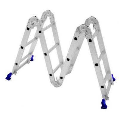 Escada Aluminio 12dx1  3,36m Articulada 3x4 Mor