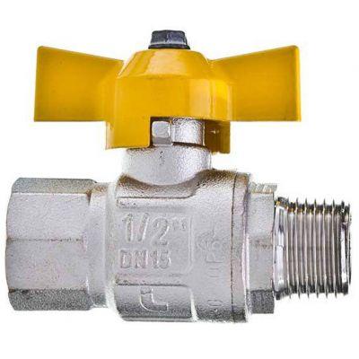 Registro Gas Reto M/f Borb 1/2'