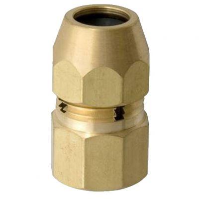 Adaptador p/ Gas 1/2 Bsp (f) x tm 3/8 (f) - Blukit