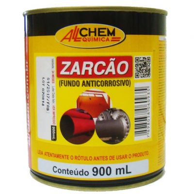Fundo Anti-corrosivo Zarcao 900ml Allchem