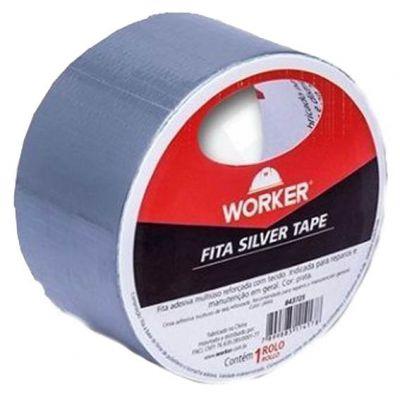 Fita Silver Tape  45mmx5m - Worker