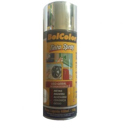 Tinta Spray Metalica Cromado Beltools 400ml