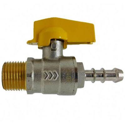 Registro Gas Reto Rosc 1/2x3/8 Mang