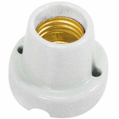 Soquete Porta Lampada Porcelana Fixo E27 Liege