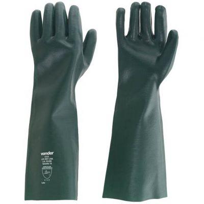 Luva Pvc Verde Lisa 27cm ca 33039 - Vonder