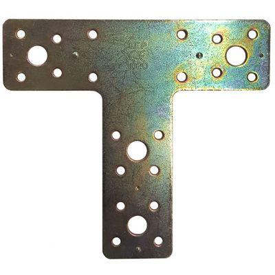 Placa de Juncao em t 150x135x2,5mm em Aco Galv z