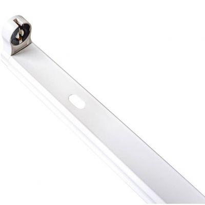 Luminaria de Sobrepor Branca P/1 Lampada Led 120cm Lumanti