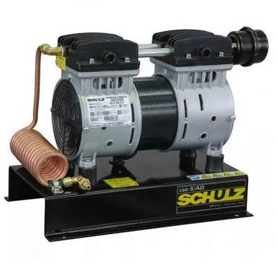 Compressor de ar 1hp Csd-5 ar Direto c/ Serpentina (odontologico)