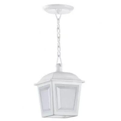 Pendente Capelinha P/1 Lamp Branca Dital