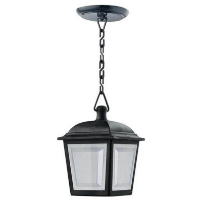 Pendente Capelinha P/1 Lamp Preta Dital