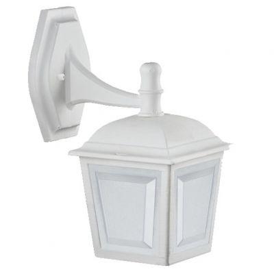 Arandela Capelinha p/ 1 Lamp Branca Dital
