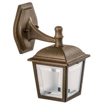 Arandela Capelinha p/ 1 Lamp Imbuia Dital