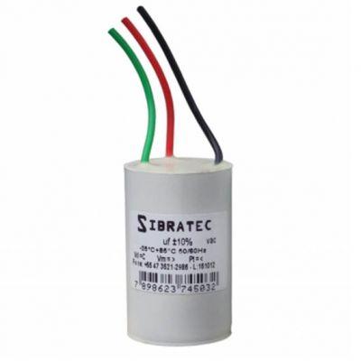 Capacitor 3fios 127v 2,5/4uf Vent Teto Mister