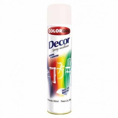 Tinta Spray Verniz Incolor Decor 360ml