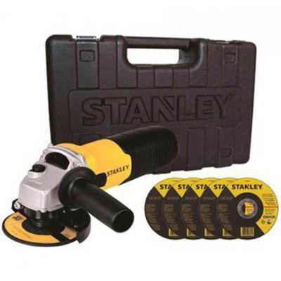 Esmerilhadeira 4.1/2 710w 220v c/ Maleta e 5 Discos Stanley