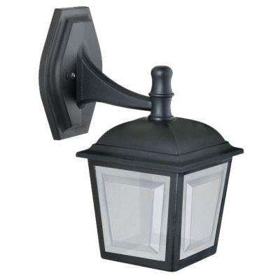 Arandela Capelinha p/ 1 Lamp Preta Dital