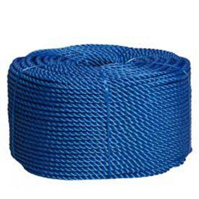 Corda 12mm Polietileno Torcida Azul 12m/kg Parana Cordas