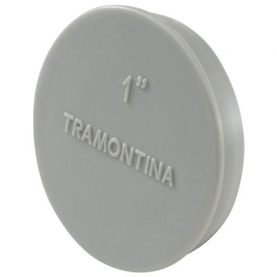 Tampao Condulete Multiplo 3/4 Aluminio Tramontina