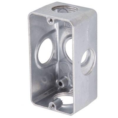 Caixa Multiplo x 3/4 Aluminio