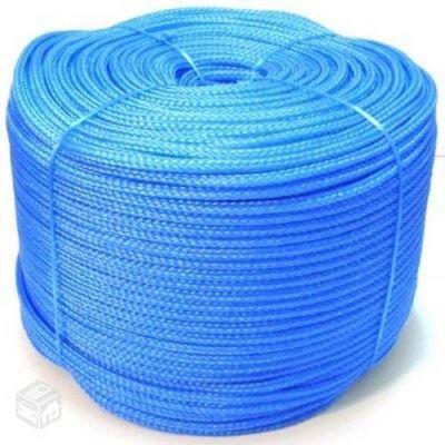 Corda 08mm Pet Trancada Azul 45m/kg Parana Cordas