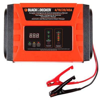 Carregador Bateria Inteligente 4/10/20/40a 220v Black e Decker