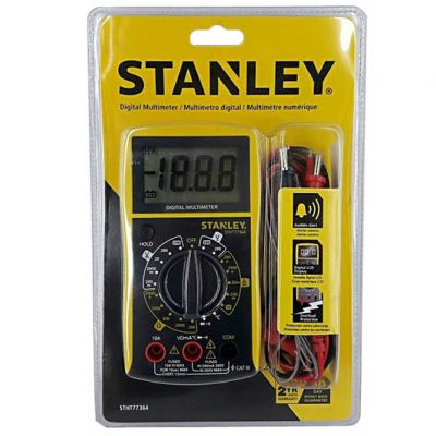 Multimetro Digital c/ Sensor Temp Beep Son Stanley