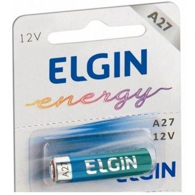 Pilha A27 12v Alcalina Elgin