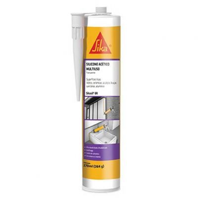 Cola Silicone Incolor 265g Sika