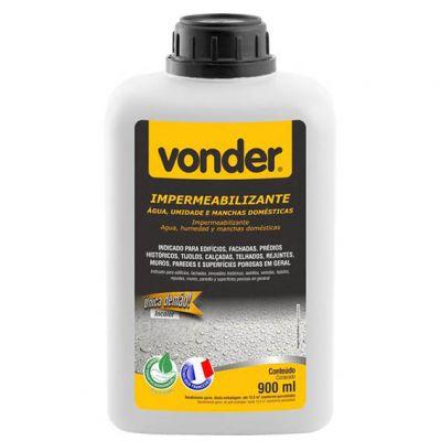 Impermeabilizante Agua 900ml Vonder