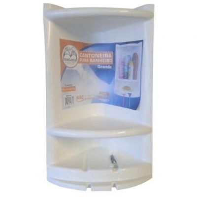 Cantoneira p/ Shampoo Plastica Metasul