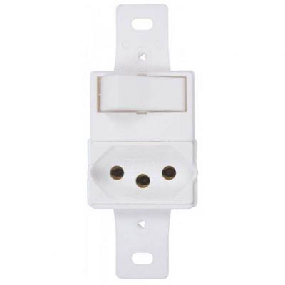 Modulo 1 Interruptor Paral c/ Tomada 20a Lumibras
