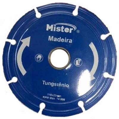 Disco Serra Tungstenio 115mm F22 Madeira Mister