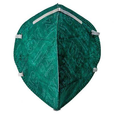 Mascara Desc s/ Valvula Pff2 Verde 3m