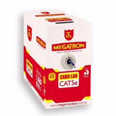 Cabo Lan 4px24 100% Cobre Cat.5e Megatron