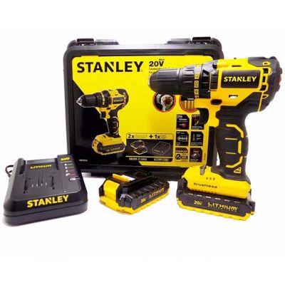 Furadeira/ Parafusadeira 13mm 2 Bat Litio 20v Sbd20s2k Stanley
